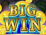 Win screen in Blazing 888 Slots