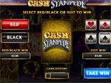 Cash Stampede Gamble