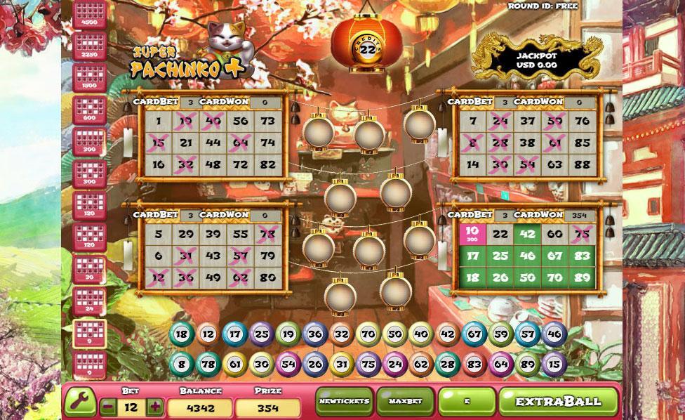 Super Pachinko Plus Casino Game - Play this Game Online