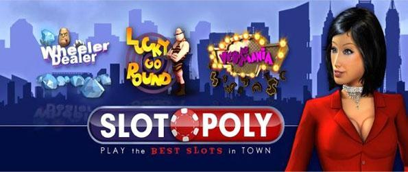Slotopoly - Join one of the growing Facebook Slots Games and come in and play.