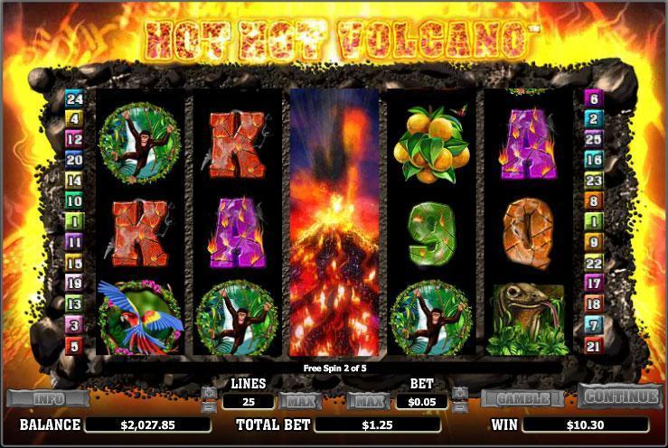 Volcanic gold casino