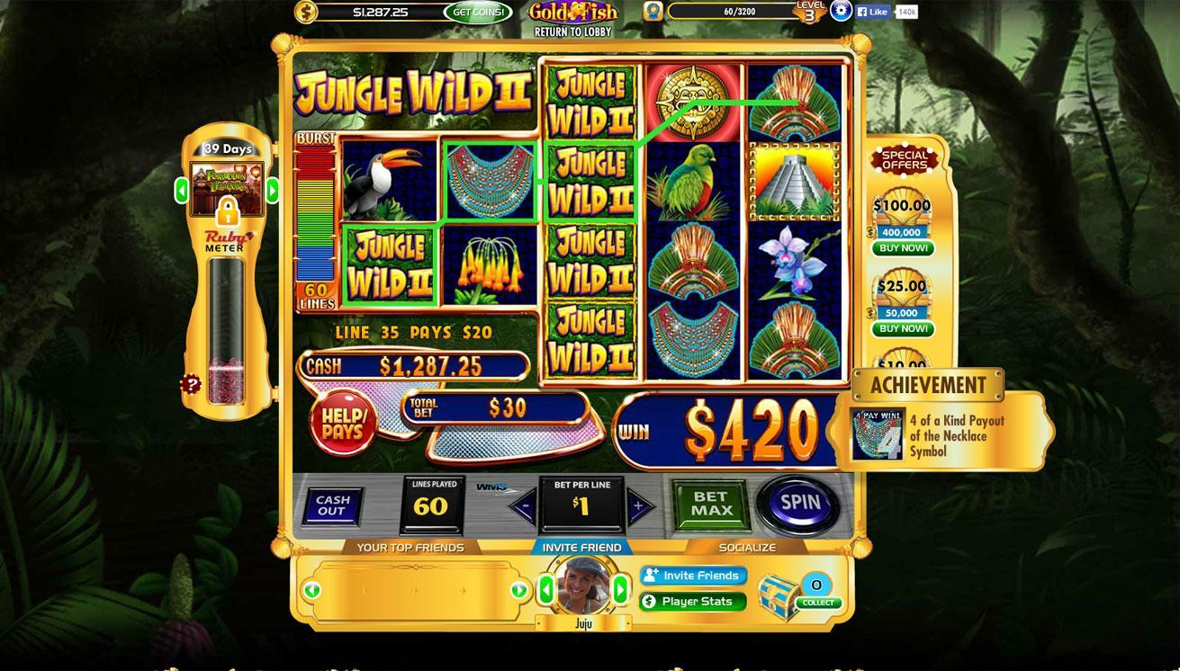 Gold fish casino slots slot sevens for Fish game gambling