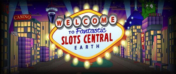 Slots Central - Enjoy a fantastic slots game full of amazing power ups.