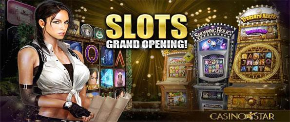 CasinoStar - Enjoy brilliant slot machines with bonus games and more as well as lots of types of poker in a free Casino.