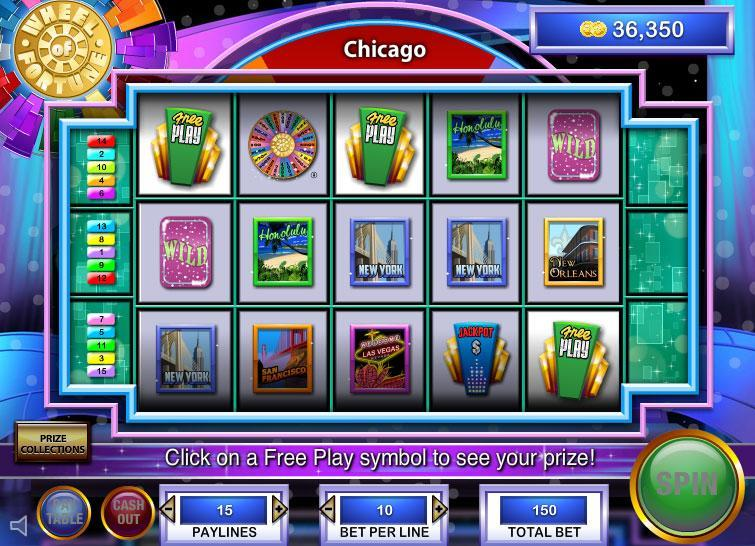 free slots games wheel of fortune