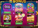 bonuses in Rock N' Cash Casino Slots