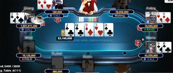 Krytoi Texas HoldEm Poker - Play with billions of free cash.