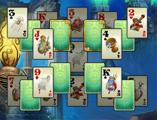 Try Solitaire Atlantis