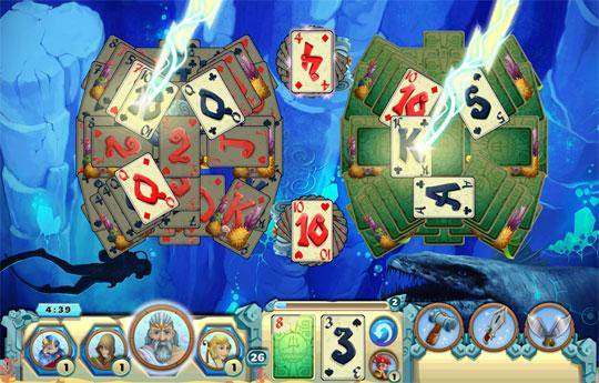 The Power of Zeus in Solitaire Atlantis