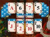Christmas Theme in Santa's Christmas Solitaire