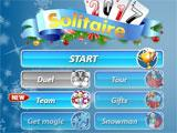 Solitaire 2017 main menu