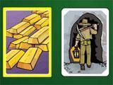 Beautiful Klondike-themed card backs in Goldrush Klondike