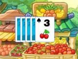 Tri-Fruit Solitaire: Game Play