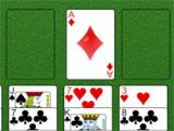 FreeCell Solitaire Three of Diamonds