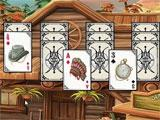 Solitaire Chronicles: Wild Guns gameplay