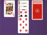 Klondike Solitaire: Easy mode