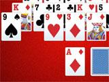 Playing Solitaire in Pyramid Solitaire Challenge