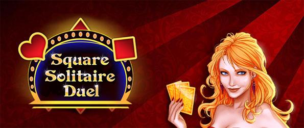 Square Solitaire Duel - Beat your opponent by making the best poker hands that you can in a free Facebook Game.