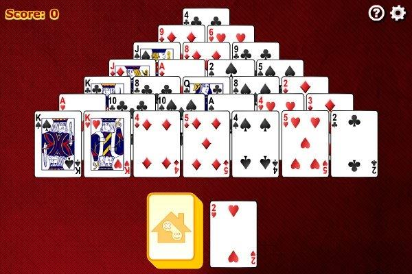 online pyramid solitaire games