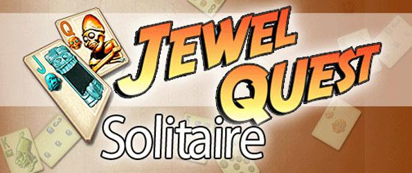 Jewel Quest Solitaire - Enjoy a brilliant adventure with a blend of solitaire and match 3 games.