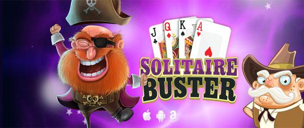 Solitaire Buster - Enjoy a brilliant card game full of fun and amazing boosters.
