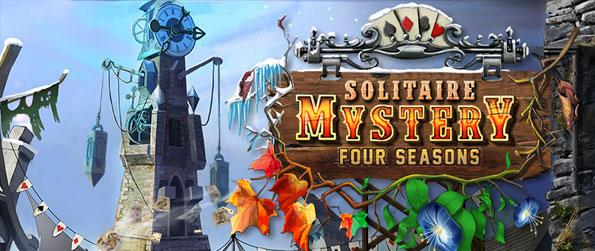 Solitaire Mystery: Four Seasons - Find the mystifying reason behind the curse that looms over the City of Magic Cards and relieve its citizens from their struggles in Solitaire Mystery: Four Seasons.