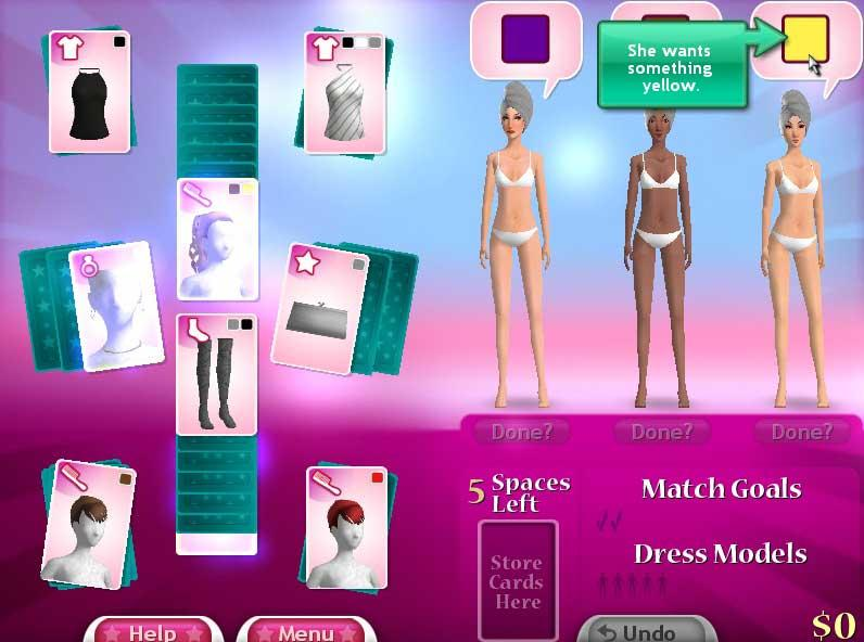 fashion solitaire 3