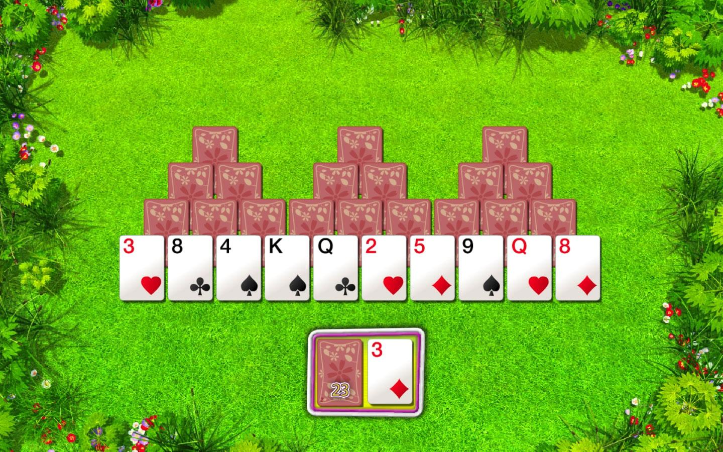 tri level solitaire