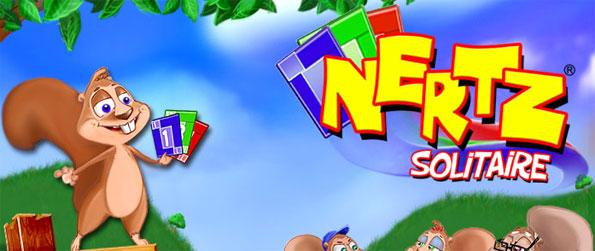 Nertz Solitaire - Clear your Nertz deck of 12 cards quickly to win the game.
