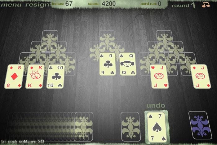 tri level solitaire