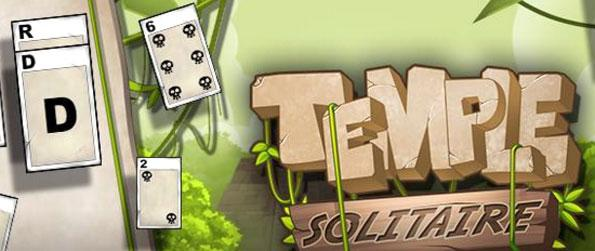 Temple Solitaire - Get as high a score as you can when playing the game.