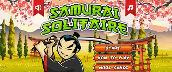 Samurai Solitaire - Play a Freecell version of Solitaire in this exciting Solitaire game in Facebook.