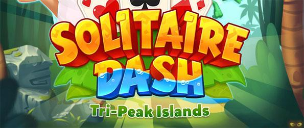 Solitaire Dash Tri-Peaks Island - Smash through the levels of this amazing Solitaire game on Facebook.