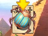 Egyptian Pyramid Solitaire Great Scarab