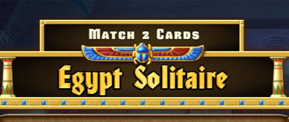Egypt Solitaire Match 2 Cards - Find as many of the gold-plated special cards as you can!