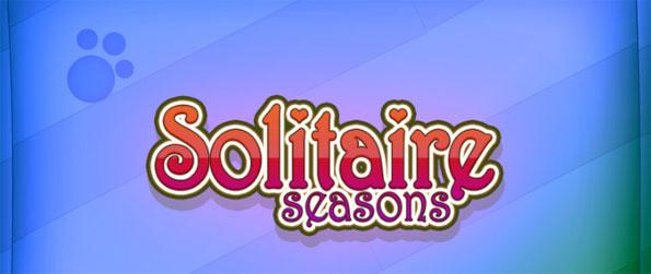 Solitaire Seasons - Test your luck and clear out the deck of cards in the game as fast as you can in Solitaire Seasons!