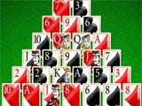 Playing Pyramid in Solitaire Deluxe