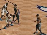 Setting the pick in NBA Live Mobile Basketball
