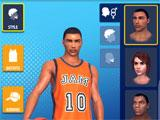 Basketball Stars customizing a character