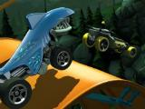 Going mid-air in Hot Wheels: Race Off