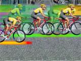 Racing in Tour de France - Cycling stars