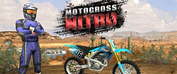 Motocross Nitro - Enjoy a stunning Motocross game free on Facebook.