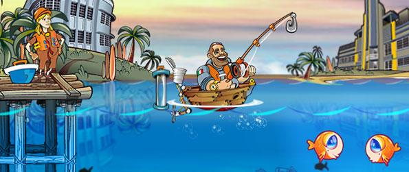 Fishing Craze - Go crazy over angling sports and fish your way to success in Fishing Craze. Published by Big Fish Games, the game sports a fast paced 2D arcade game that centers on competitive angling.