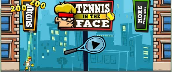 Tennis in the Face - Use your elite tennis skills to put a stop into the evil plans of Explodz Inc. and ultimately save the world.