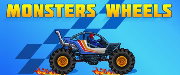 Monsters Wheels - Get set for a mammoth racing challenge in this wonderful game in facebook to provide race fanatics with a simple but addictive racing game to get you pumped racing for hours!
