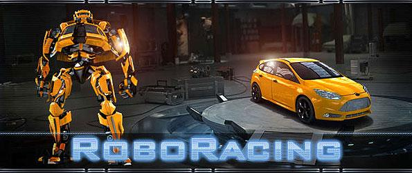 Robo Racing - Enjoy a wonderful side scroll - physics based race game with the unique twist of getting to blow up your competitors in the track plus a mini arcade game of bot fights in Robo Racing.