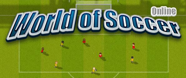 World of Soccer Online - World of Soccer is a fast paced, multiplayer online soccer arcade game, played over a perspective 2.5D, vertical scrolling presentation.