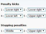 Soccer Project: Choosing Penalty Takers