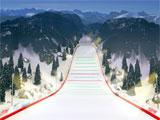 Beautiful graphics in Ski Jumping VR
