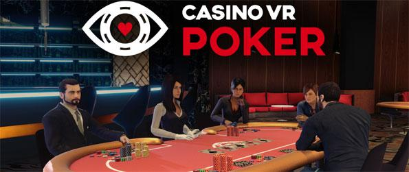 Casino VR Poker - Experience a realistic casino environment that features 6 Texas Hold'em poker tables in Casino VR Poker!